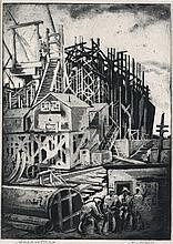 DOX THRASH (1892 - 1965) Shipfitters.