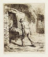 JEAN-FRANÇOIS MILLET Le Paysan rentrant du Fumier.