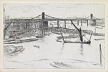 JAMES A. M. WHISTLER Old Hungerford Bridge.