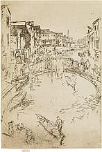 JAMES A. M. WHISTLER The Bridge, Santa Marta.