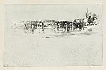 JAMES A. M. WHISTLER Little Putney Bridge.
