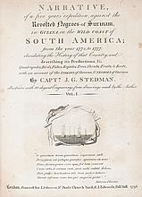 (SLAVERY AND ABOLITION--SLAVE UPRISINGS.) STEDMAN, CAPTAIN JOHN GABRIEL. Narrative of a Five Years' Expedition Against the Revolted Na