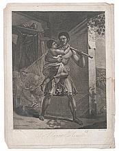 (SLAVERY AND ABOLITION--HAITI.) Le Negre Arme.