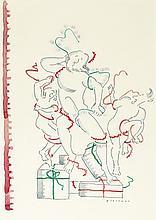 R.O. BLECHMAN. Christmas Wrapping (Modern Laocoön).
