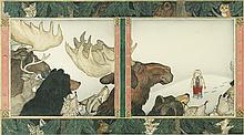 JAN BRETT. Annie and the Wild Animals.