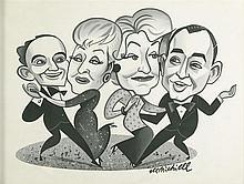 ROBERT DE MICHIELL. New Yorker illustration.