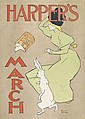 EDWARD PENFIELD (1866-1925). HARPER'S MARCH. 1895. 19x13 inches, 48x35 cm.