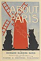 EDWARD PENFIELD (1866-1925). ABOUT PARIS. 1895. 14x9 inches, 36x24 cm. Harper & Brothers, [New York].