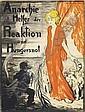 ANARCHIE IST HELFER REAKTION UND HUNGERSNOT. 1918, Walter Schnackenberg, Click for value