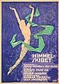 POSTER: SVEN BRASCH (1886-1970). HIMMEL-SKIBE, Sven (1886) Brasch, Click for value