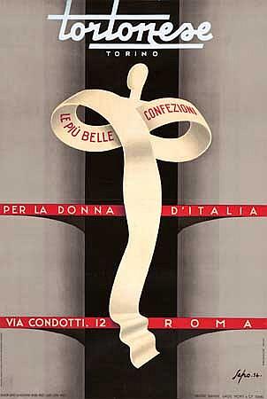 POSTER: SEPO (SEVERO POZZATI) (1895-1983). TO
