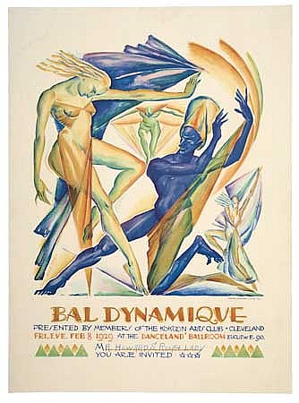 POSTER: ROLF STOLL (1892-1978). BAL DYNAMIQUE