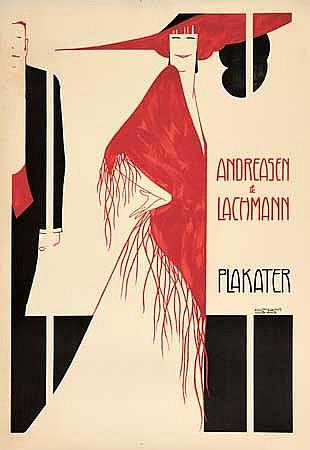 POSTER: SVEN BRASCH (1886-1970). ANDREASEN &