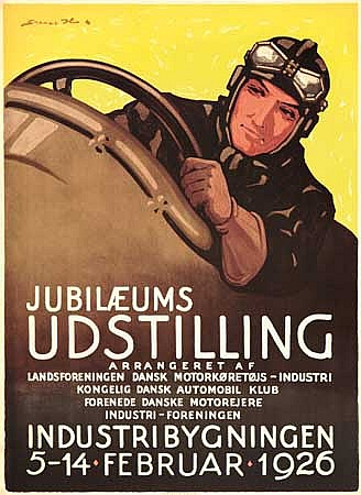 POSTER: SVEN BRASCH (1886-1970). JUBILAEUMS U