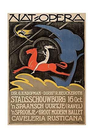 POSTER: SAMUEL SCHWARZ (1876-1942). NAT-OPERA