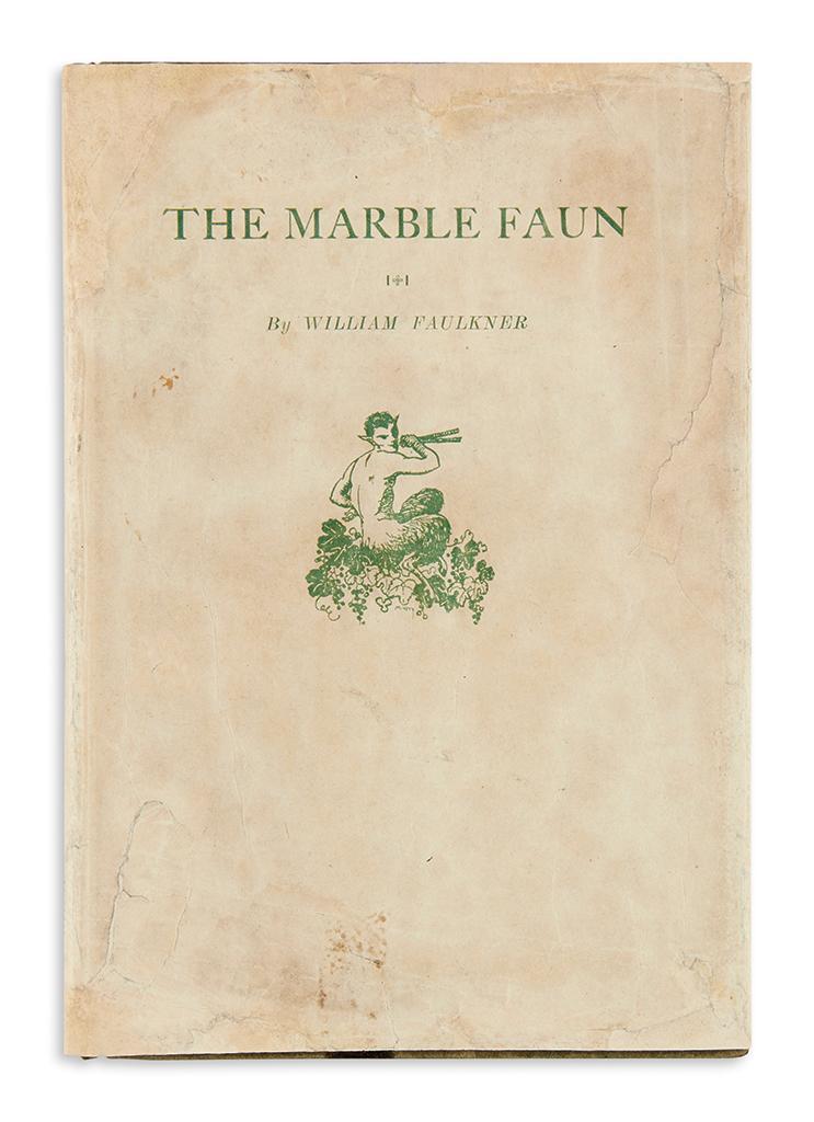 Faulkner William Marble Faun