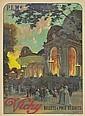 LOUIS TAUZIN VICHY. 1911. 42x31 inches. F. Champenois, Paris., Louis Tauzin, Click for value