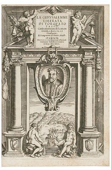 TASSO, TORQUATO. La Gerusalemme Liberata.  1617