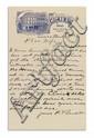 GARRETT, PATRICK FLOYD. Autograph Letter Signed,