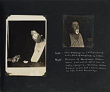 (SPIRITUALISM) Album of 27 Spiritualist photographs