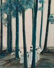 DELILAH W. PIERCE (1904 - 1992) Where the Blue and the White Nile Meet.