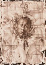 CHARLES WHITE (1918 - 1979) Wanted Poster Series #11 (Positive Image).