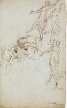 SAMUEL DE WILDE (London 1751-1832 London) Theater Figure Studies.