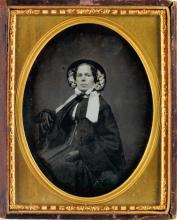 (DAGUERREIAN PORTRAITURE) Group of 30 daguerreotype portraits, including lovely women, ambitious men, loving couples, and well-heeled f