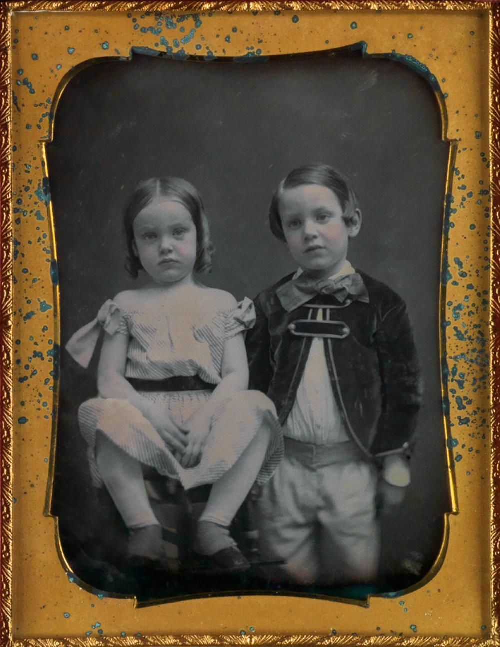 JESSE WHITEHURST (1819/20-1875) A trio of elegant daguerreotypes of children.