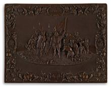 (UNION CASES) Group of 38 beautifully-crafted American cases, including the rare whole-plate