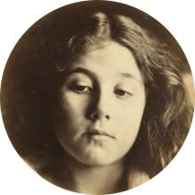 JULIA MARGARET CAMERON (1815-1879) Portrait of Kate Keown.