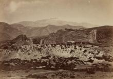 WILLIAM HENRY JACKSON (1843-1942) Pike's Peak & Garden of the Gods * Cathedral Spires, Garden of the Gods.