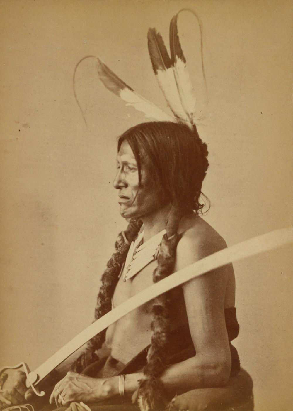 ALEXANDER GARDNER (1821-1882) Suite of 15 photographs of Sioux Delegation members who visited Washington, D.C.