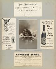 NAPOLEON SARONY (1821-1896) The Sarony Photographic Art Album.