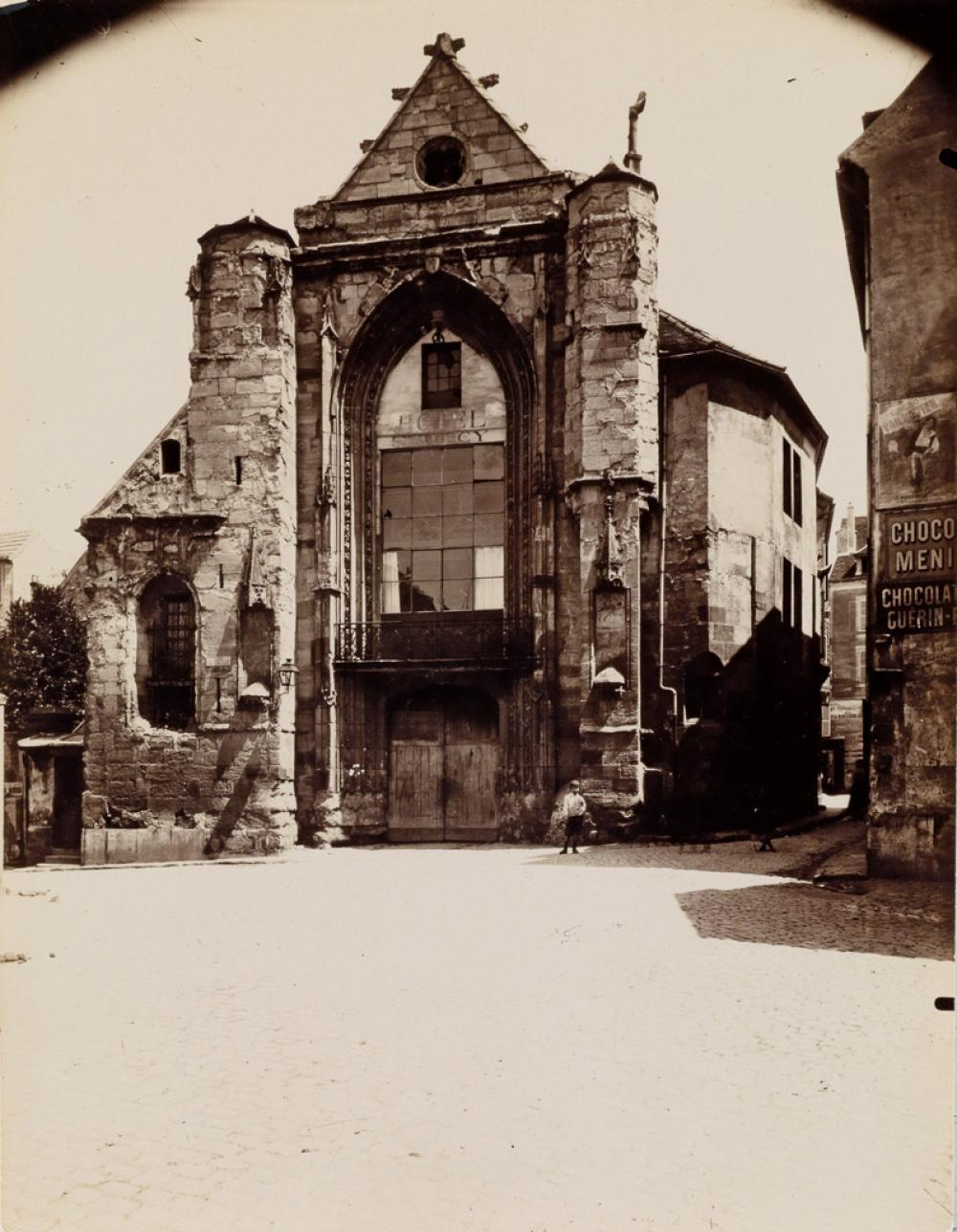 EUGÈNE ATGET (1857-1927) Lagny-Ruines de St. Furcy.