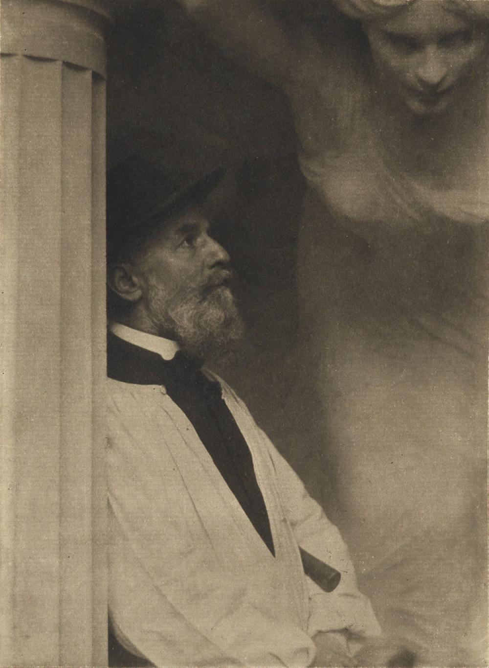 EDWARD STEICHEN (1879-1973) The artist Paul-Albert Bartholomé.