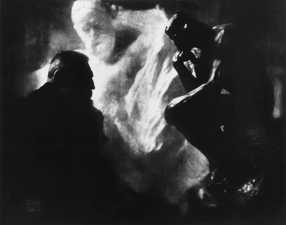 EDWARD STEICHEN (1879-1973) Rodin--La Penseur.