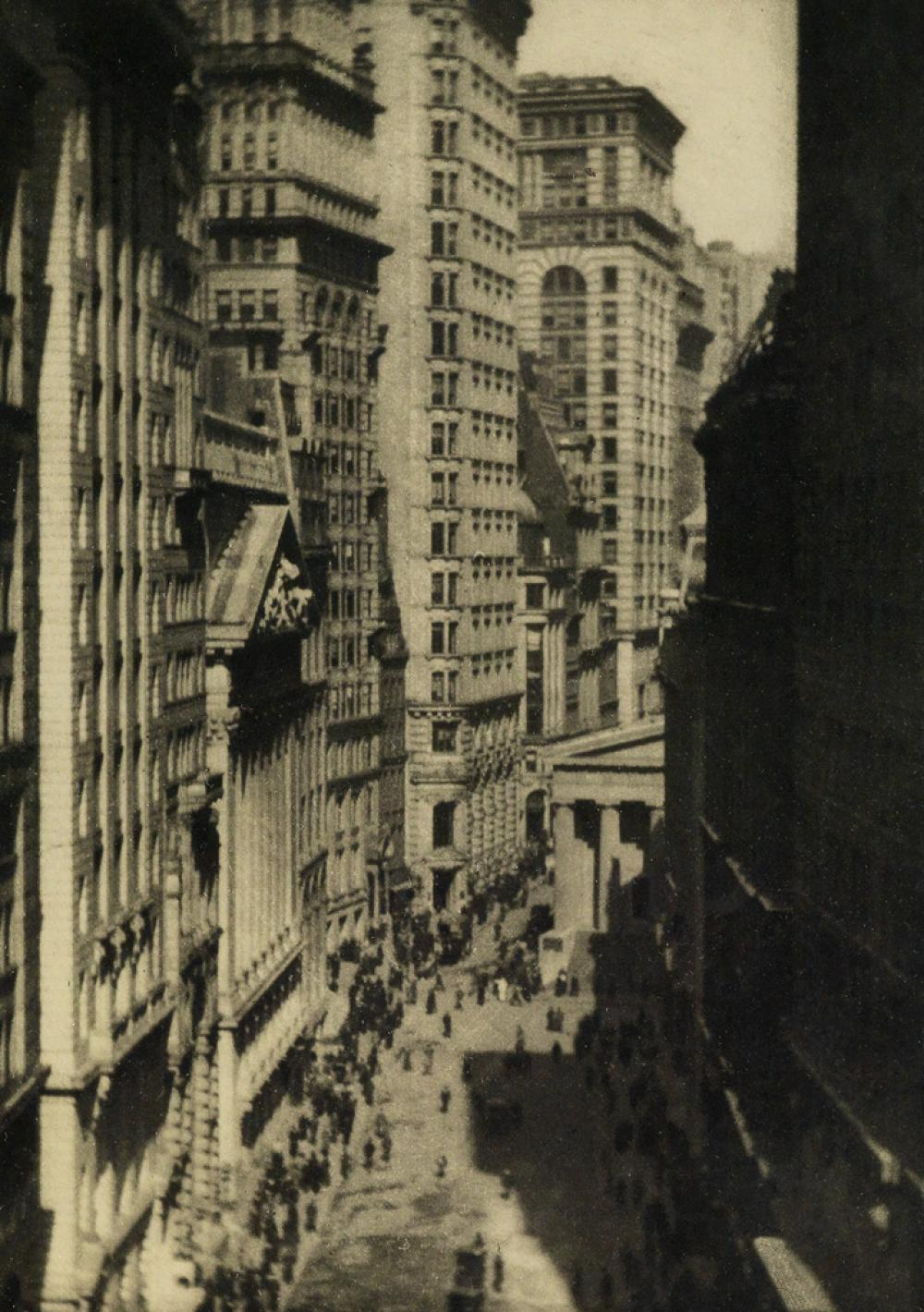 ALVIN LANGDON COBURN (1882-1966) The Bridge--Sunlight, New York * The Singer Building * The Holland House * Wall Street.