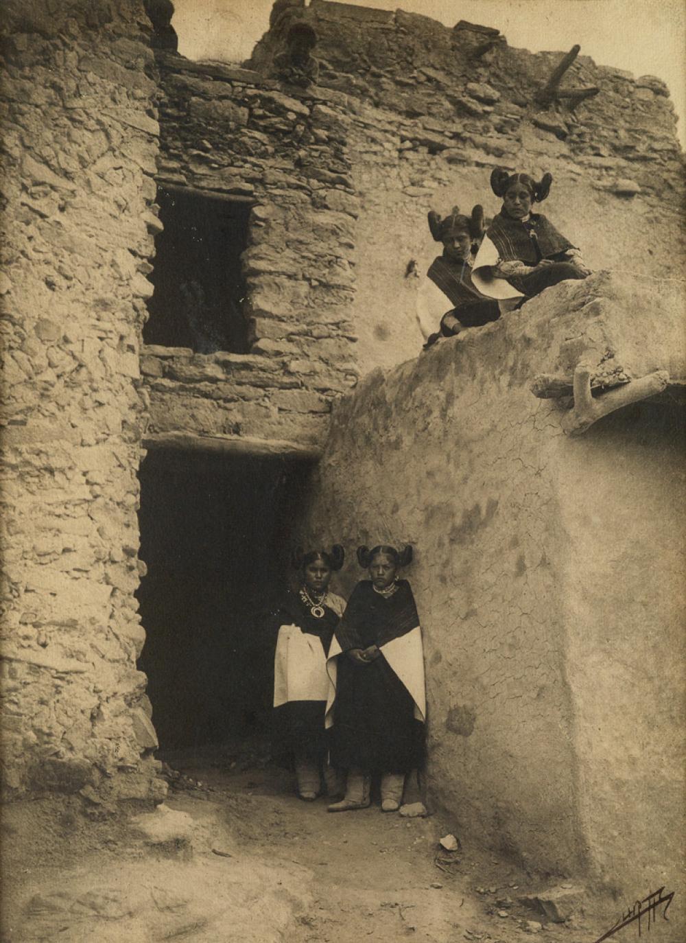 EDWARD S. CURTIS (1868-1952) The Hopi.