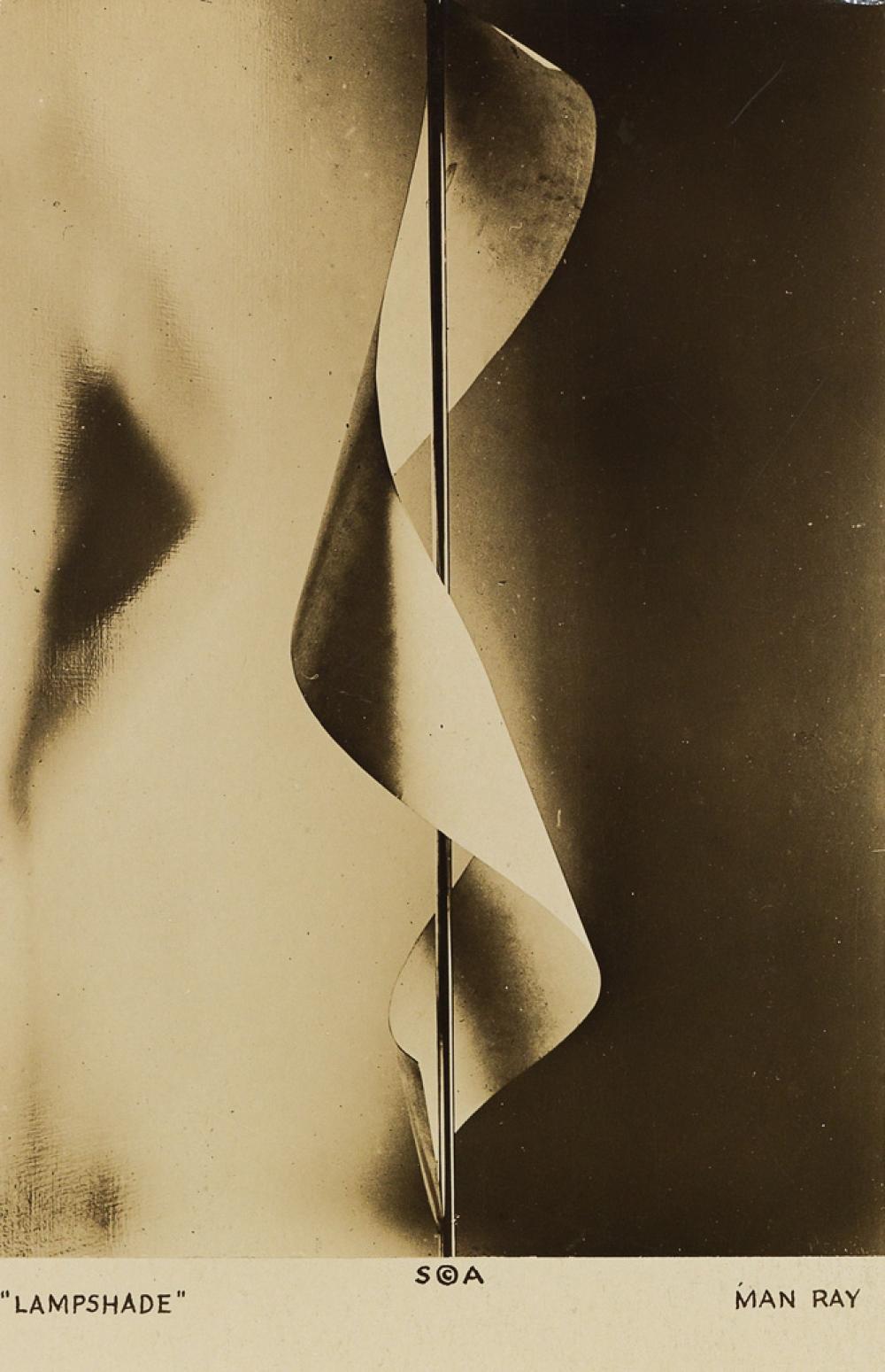 MAN RAY (1890-1976) Lampshade.