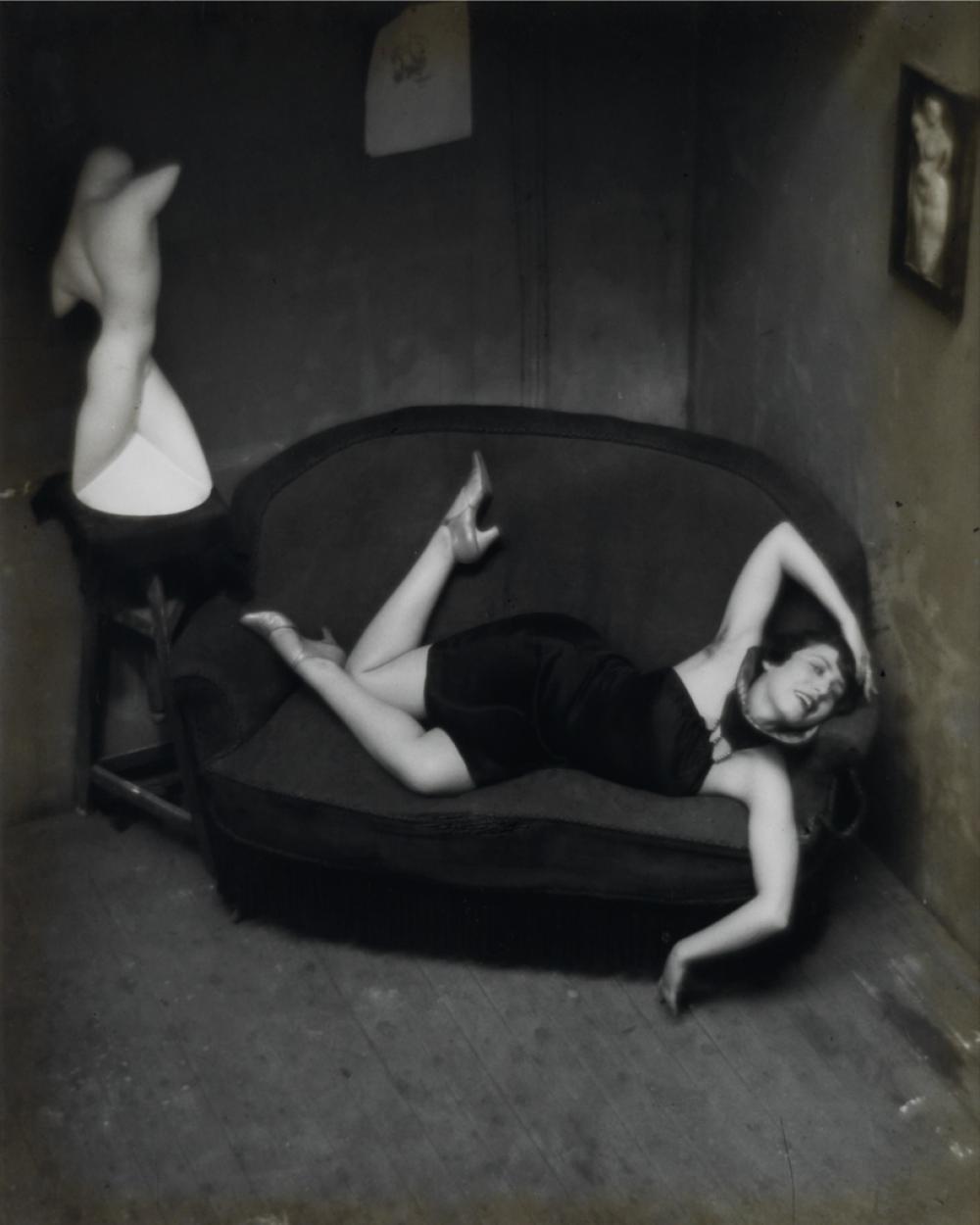 ANDRÉ KERTÉSZ (1894-1985) Satiric Dancer.