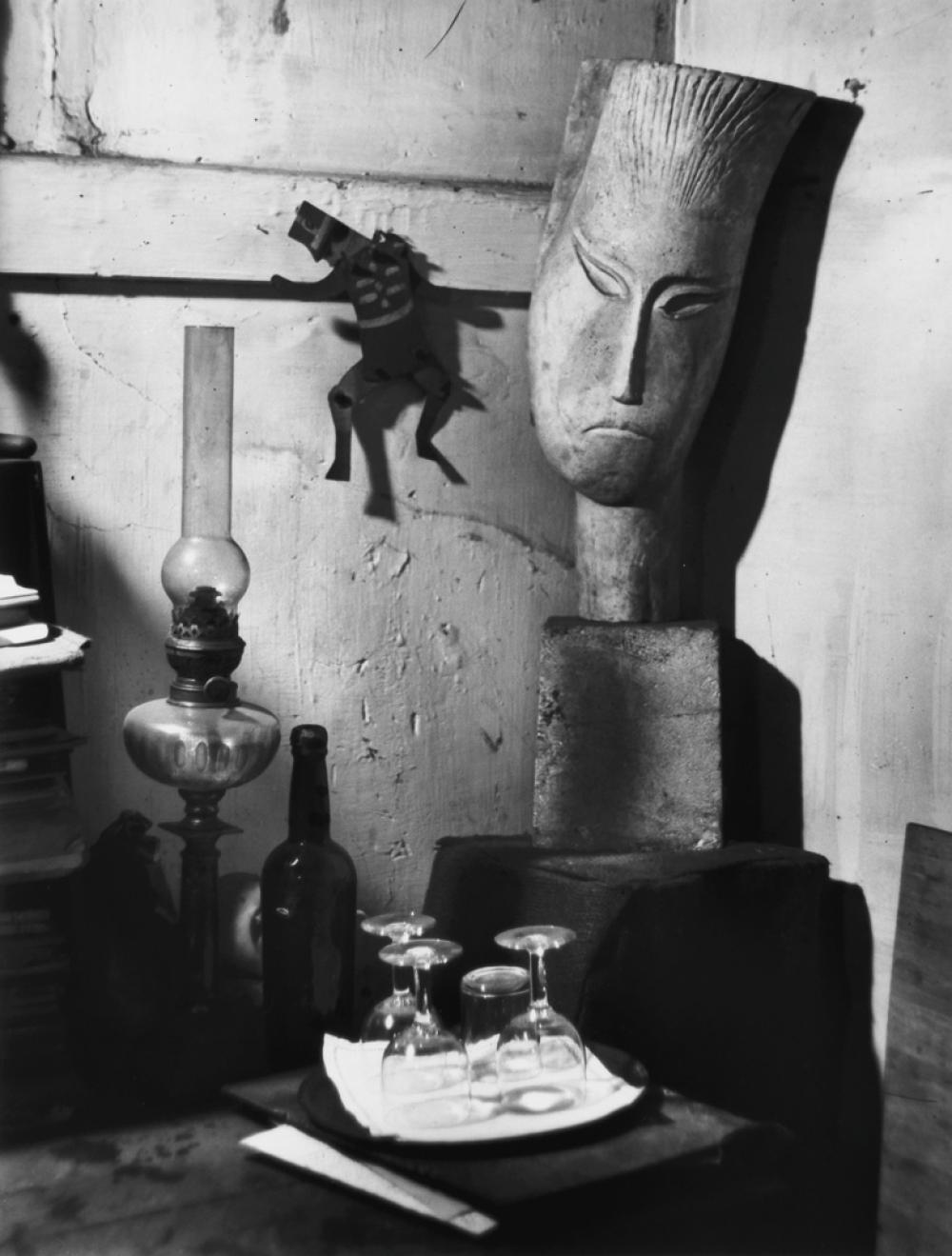 ANDRÉ KERTÉSZ (1894-1985) Ossip Zadkine's sculpture studio.
