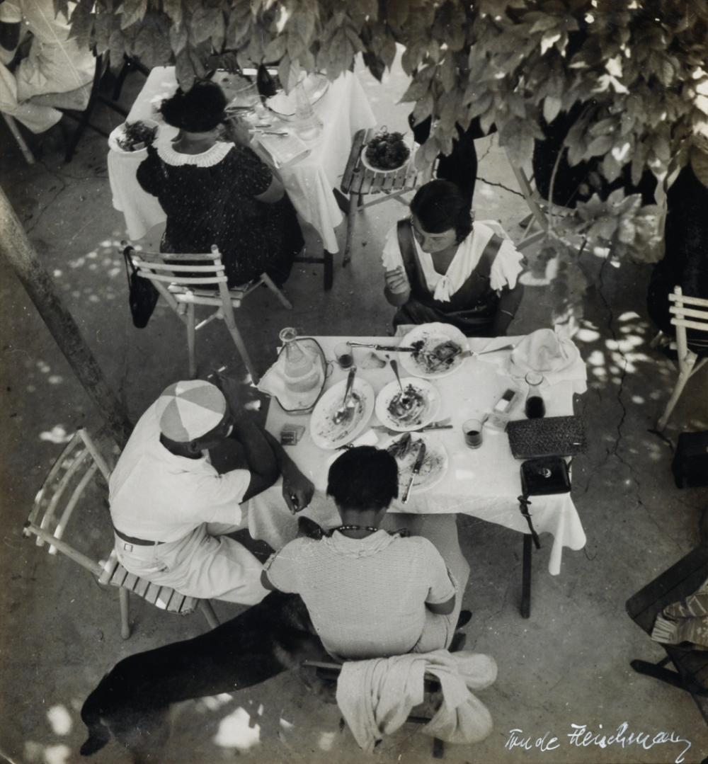 TRUDE FLEISCHMANN (1895-1990) Déjeuner sur l'Herbe, Italy.