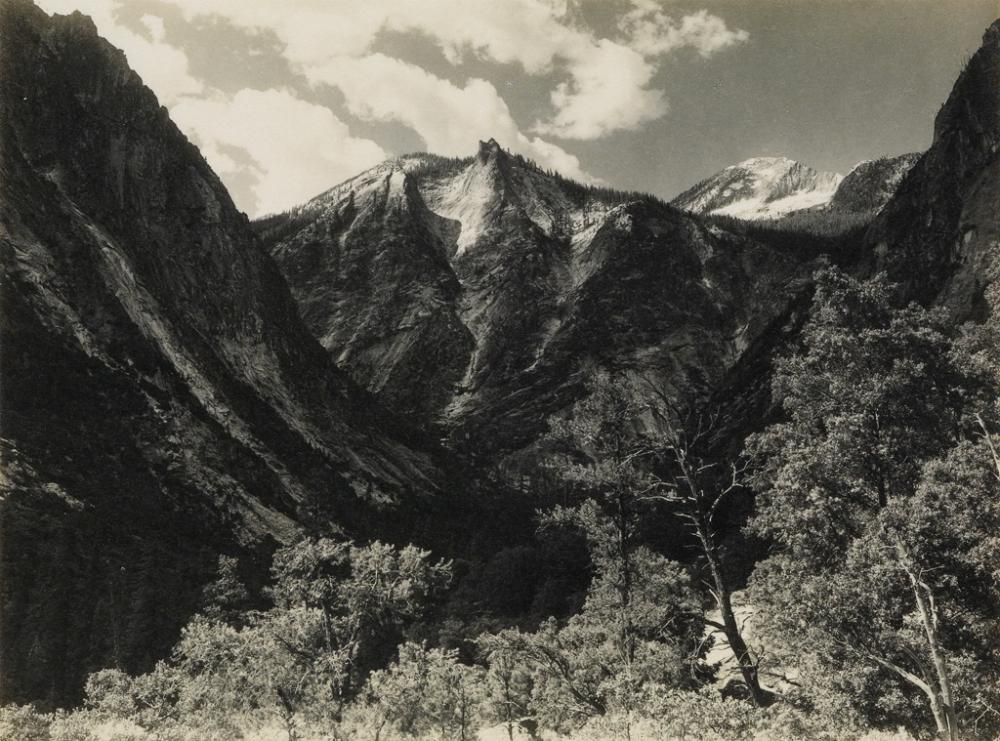 ANSEL ADAMS (1902-1984) Lower Paradise Valley.