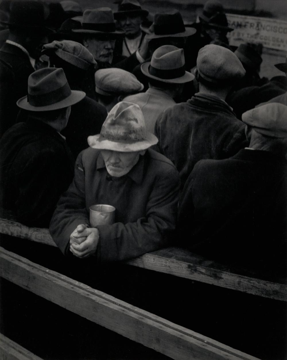 DOROTHEA LANGE (1895-1965) White Angel Breadline.