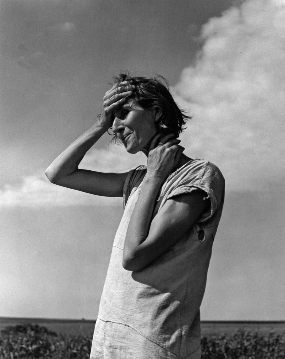 DOROTHEA LANGE (1895-1965) Woman of the High Plains, Texas Panhandle.