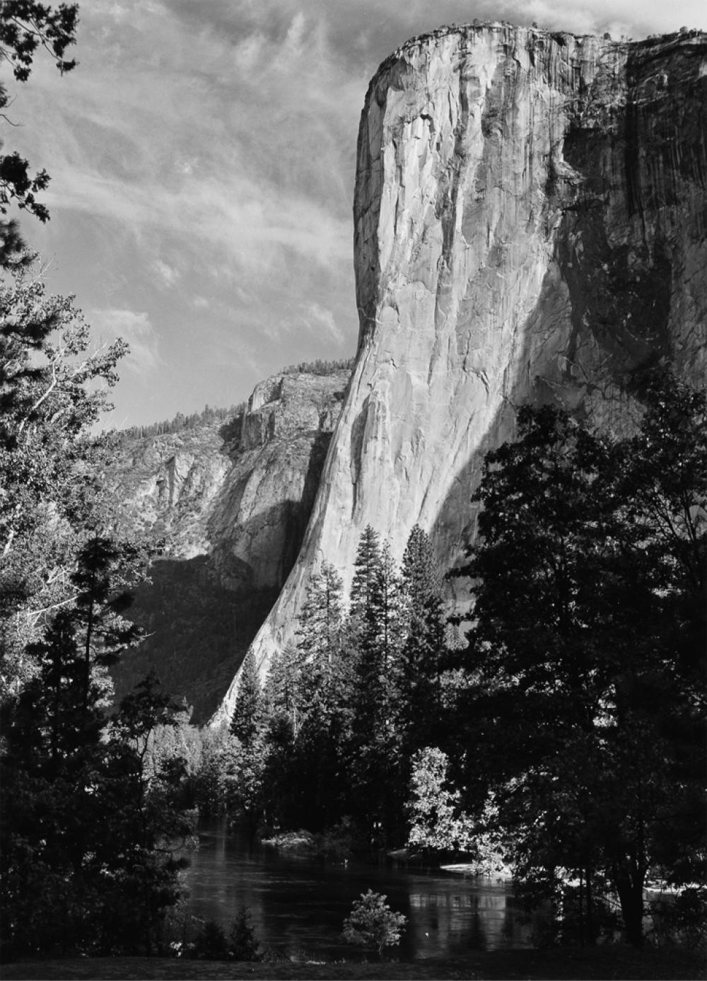 ANSEL ADAMS (1902-1984) El Capitan.