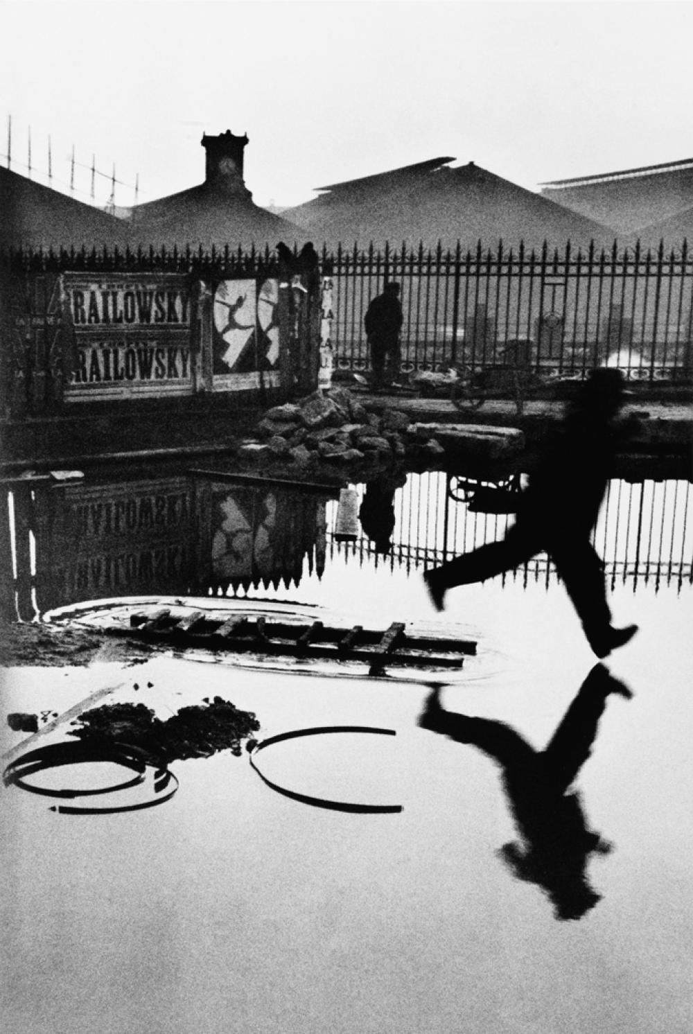 HENRI CARTIER-BRESSON (1908-2004) Behind the Gare Saint-Lazare, Paris.