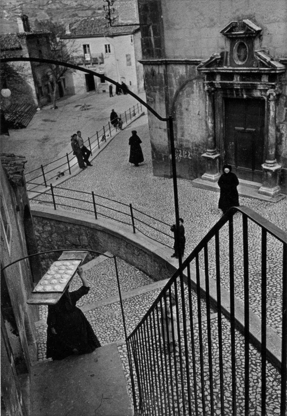 HENRI CARTIER-BRESSON (1908-2004) Christmas in Scanno, Italy.