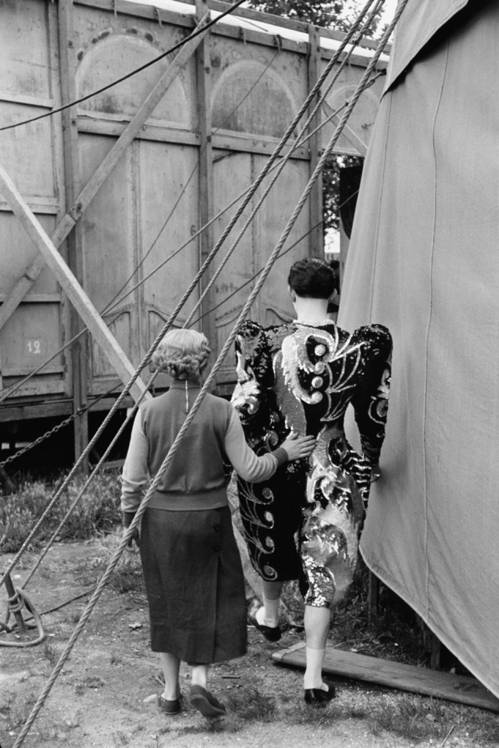 HENRI CARTIER-BRESSON (1908-2004) Le Cirque Fanni.